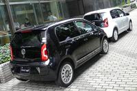 「フォルクスワーゲンup!」に白黒2色の限定車の画像