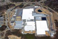 寄居工場の鳥瞰(ちょうかん)写真。栃木プルービンググラウンドと同じ設計のテストコースが設けられている。