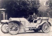大倉喜七郎男爵と1905年「フィアット100HP」