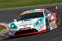 GT300クラスで優勝したNo.52プロμ太陽石油KUMHOセリカ(竹内浩典/嵯峨宏紀/澤圭太組)。