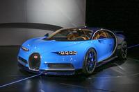 「ブガッティ・シロン」の価格は240万ユーロ(約3億円)。生産台数は500台を予定する。