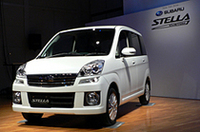スバルの新型軽「ステラ」好発進、人気車種は……。の画像