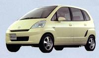 1999年10月23日から11月3日にかけて開催された、第33回東京モーターショーに出品されたコンセプトモデルの「MR-WAGON」。0.66リッター直3DOHCリーンバーンエンジンをフロア下に「ミドシップレイアウト」。トランスミッションは、MTベースの自動変速機構付きが搭載されていた。