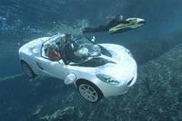 【Movie】海に潜るクルマのオモシロ映像 リンスピードsQubaの画像
