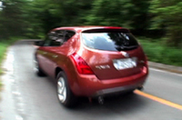 【Movie】日産の新型SUV「ムラーノ」試乗会開かれる(ただし北米仕様)
