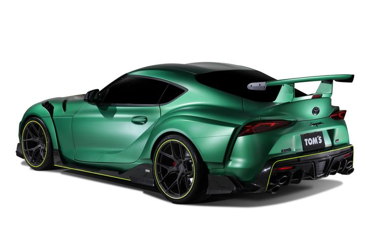 【自動車】トムスが「トヨタ・スープラ」のコンプリートカーを発表 99台限定で注文受け付けを開始 東京オートサロン2020 (133)