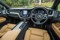 「XC60 T5 AWDインスクリプション」のインテリア。