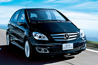 「メルセデス・ベンツBクラス」にスポーティな特別仕様車の画像