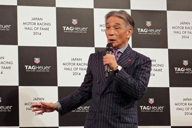 プレゼンターを務めた堺正章氏。