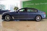 「BMWアルピナB7ビターボ リムジン ロング」のボディーサイズは、全長×全幅×全高=5250×1900×1490mm。3210mmという長めのホイールベースが確保されている。