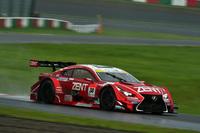 立川祐路/石浦宏明組のNo.38 ZENT CERUMO RC F。2位スタートから163周を走り、最終的に同じ2位でゴールした。