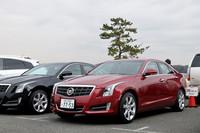 満を持して日本上陸を果たした新型車「キャデラックATS」。現在販売中の「ラグジュアリー」に加え、5月には電子制御ダンパーを備えた「プレミアム」も発売が予定されている。