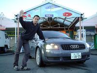 TTはね。長距離乗るとちょっと硬いな。17インチタイヤで十分かも?クワトロが480.0万円。FFモデルで399.0万円。