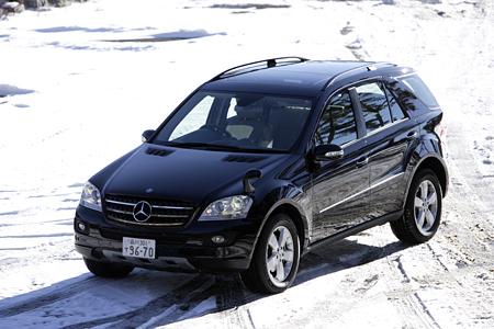 メルセデス・ベンツML500(4WD/7AT)【試乗記】