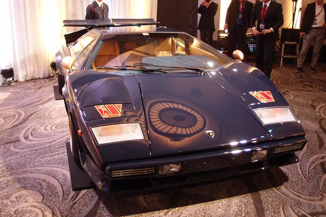 ウルフカウンタックの3号車「ネイビーブルースペシャル」。日本では単に「3号車」と呼ばれることもある。