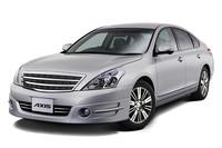日産ティアナがエコカー減税対象車に、VDCも標準装備
