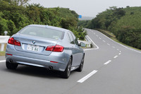 BMWアクティブハイブリッド5(FR/8AT)【試乗記】の画像