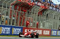 F1オーストラリアGP、フェラーリ独走で1-2フィニッシュ!【F1 04】の画像