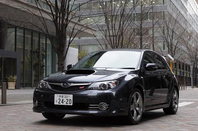 スバル・インプレッサ WRX STI A-Line(4WD/5AT)【試乗記】