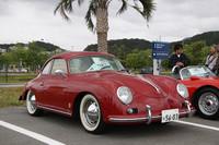 エントリーのなかでもっとも古い、そして唯一の「356」である1959年型「356Aクーペ」。