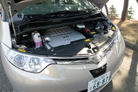 トヨタ・エスティマ3.5G 7人乗り(FF/6AT)【ブリーフテスト】の画像