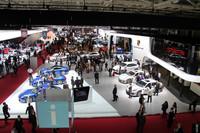 「パリモーターショー2012」の会場から。フォルクスワーゲングループの各ブランドが入る4号パビリオン。