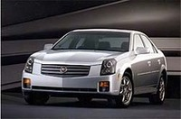 GMの新スポーティセダン「キャディラックCTS」が初公開の画像
