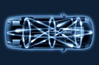 電子的な統合制御を高速に行う「電子プラットフォーム」のイメージ。