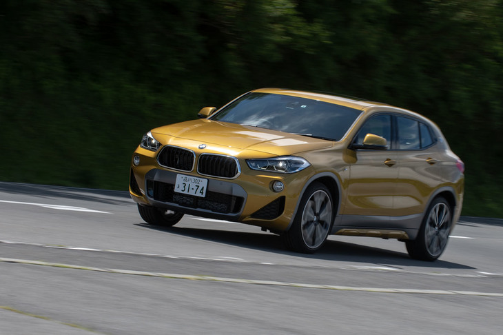 BMW X2 xDrive20i MスポーツX(4WD/8AT)【試乗記】