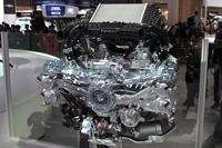 「レヴォーグ」に搭載される直噴ターボ「DIT」エンジン。1.6リッターと2リッターの2種類が用意される。