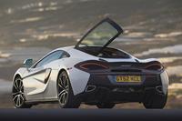大胆なテールゲートを持つ「570GT」。マクラーレンでは「touring deck」と呼ぶ。(photo:McLaren)