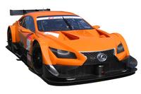 「レクサスLF-CC」をベースとした、GT500クラス用の新型車両。