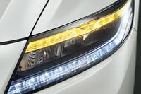 今回のマイナーチェンジでは、ヘッドランプやウインカーがLEDとなった。