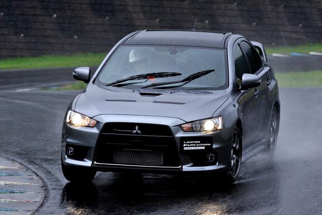 三菱ランサーエボリューション ファイナルエディション(4WD/5MT)【試乗記】