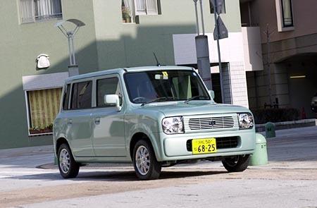 スズキ・アルト ラパンX(2WD/4AT)【試乗記】