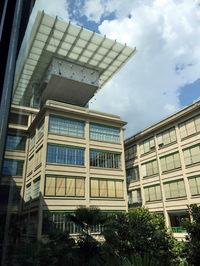 1922年に完成し、1982年までフィアットの自動車工場として使われていたトリノのリンゴットビル。現在は複合施設となっている。