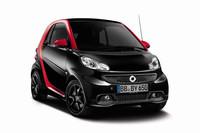 新しくなった「スマート」に赤×黒の特別仕様車