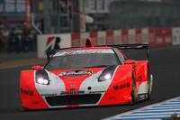 優勝したNo.8 ARTA NSX(R・ファーマン/伊沢拓也組)。NSXの最後のレースで有終の美を飾った。