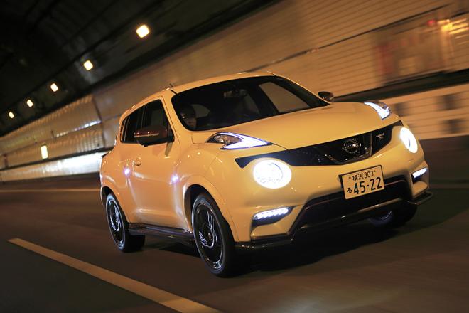 日産ジュークNISMO RS(4WD/CVT)【試乗記】