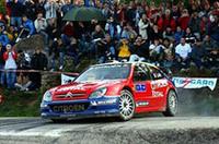 【WRC 2005】第14戦フランス、ロウブ地元で全ステージを制覇し9勝目!の画像