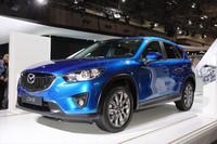 来春発売予定の「CX-5」の国内仕様。
