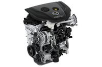 新開発の小排気量ディーゼルエンジン「SKYACTIV-D 1.5」。