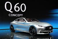 「インフィニティQ60コンセプト」(写真=日産自動車)