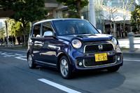 ホンダN-ONE Premium Tourer 2トーンカラースタイル(FF/CVT)【試乗記】の画像