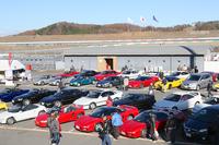 """歴代ホンダ車""""人気ランキングTOP10""""をパドックに展示。1位は「ビート」、2位が「NSX」、3位が「エディックス」。"""