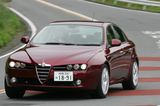 アルファ・ロメオ・アルファ159 3.2 JTS Q4 Q-トロニック ディスティンクティブ(4WD/6AT)【ブリーフテスト】