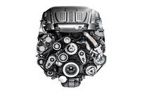 「Fタイプ」に搭載される新型3リッターV6スーパーチャージャー付きエンジン。380ps/46.9kgm仕様と340ps/45.9kgm仕様の2種類が用意される。