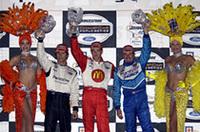 チャンプカー第12戦ラスベガス、ブーデが今シーズン6勝目を飾るの画像