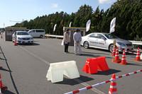 トヨタの最新安全技術を体験(前編)