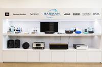 ハーマン・インターナショナルは、JBL、マークレビンソン、ハーマンカードン、インフィニティ、レキシコンなどの名門オーディオブランドを所有している。
